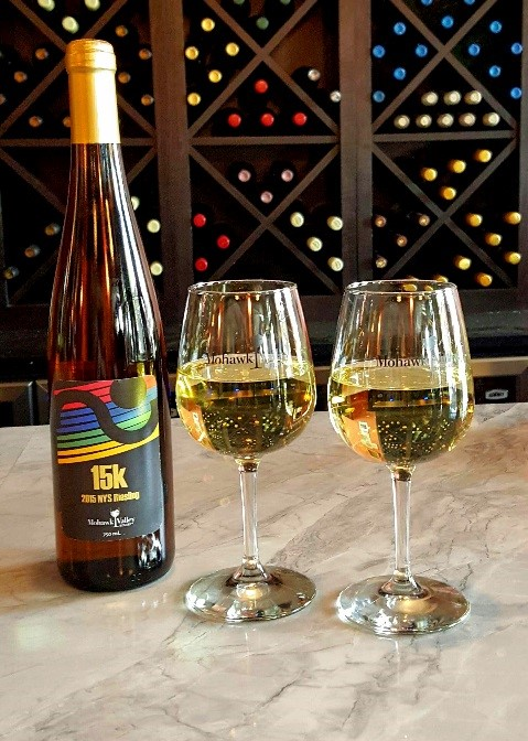 Mohawk Valley Winery limited edition 15K Riesling