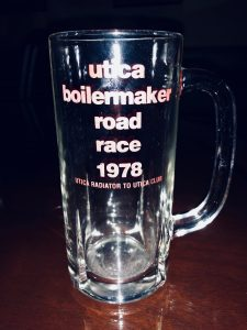 """Utica Radiator to Utica Club"" - Commemorative Mug From the first Boilermaker"