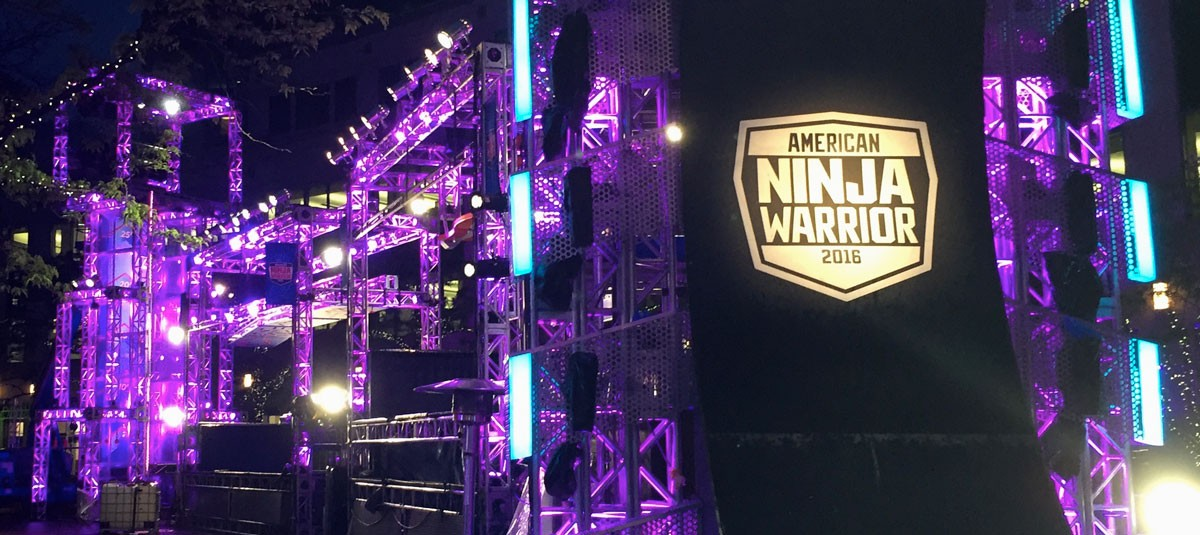 American Ninja Warrior Course