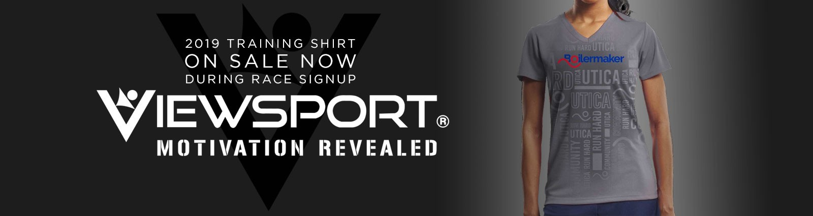 2019 Training Shirt - ON SALE NOW - Viewsport Motivation Revealed