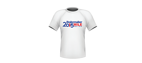 Boilermaker Community Mile Commemorative T-Shirt