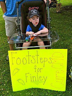 Footsteps for Finley
